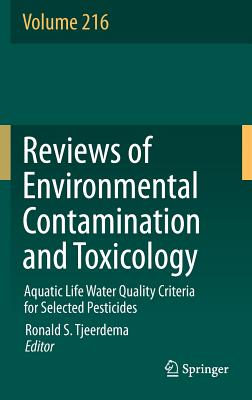 Aquatic Life Water Quality Criteria for Selected Pesticides By Tjeerdema, Ronald S. (EDT)